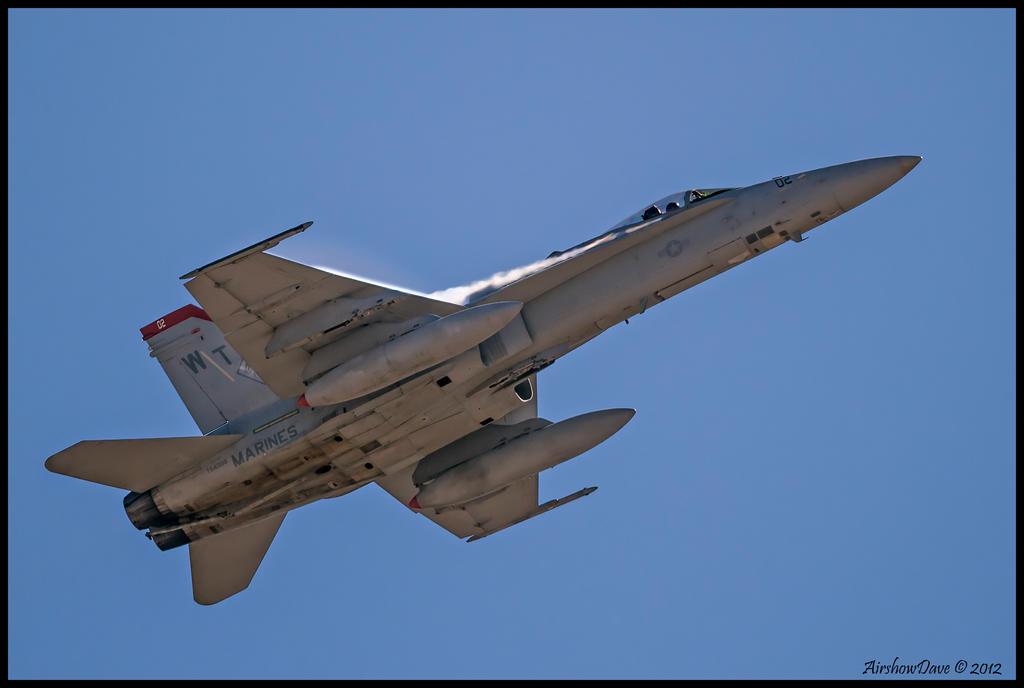 F-18C Hornet Miramar 2012 II by AirshowDave