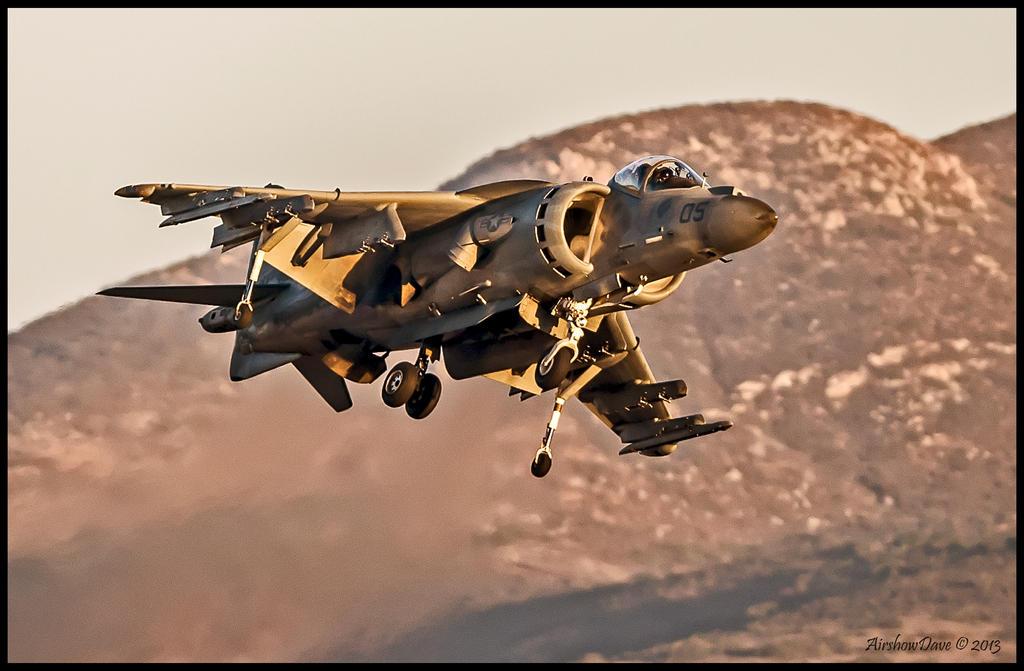Harrier Miramar 2012 by AirshowDave