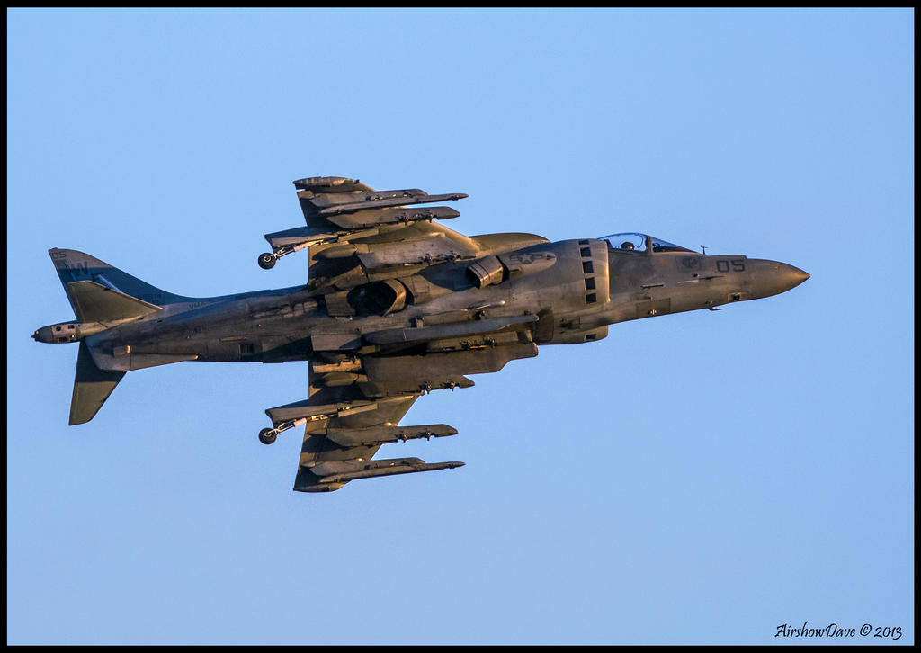 Evening Harrier by AirshowDave