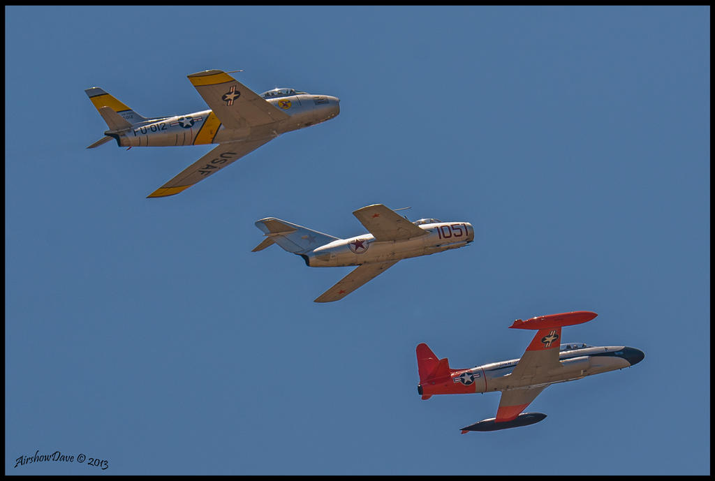 Korean War Air Power by AirshowDave