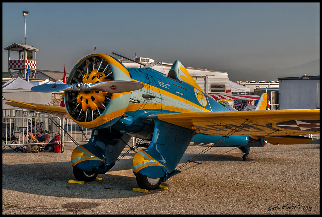 P-26A Peashooter by AirshowDave