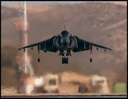 Head On Harrier by AirshowDave