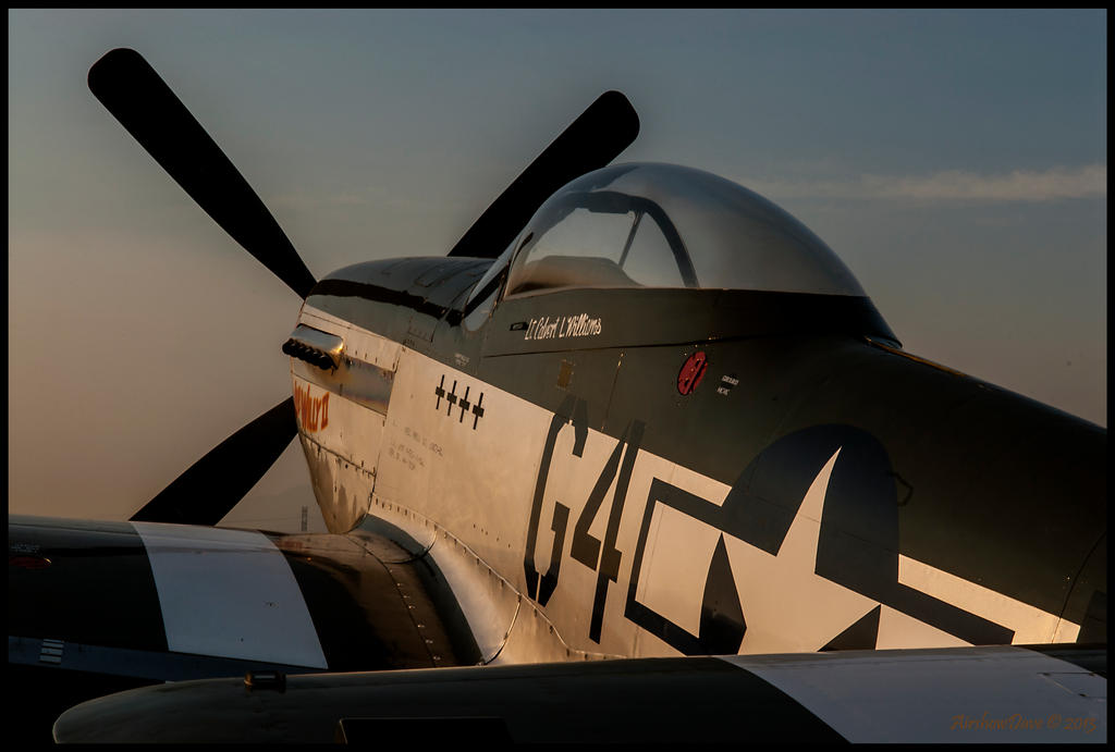 Wee Willy II Sunrise P-51 Mustang NL7715C by AirshowDave