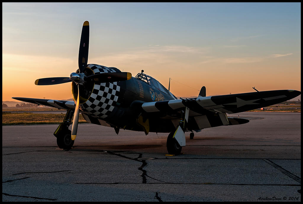 Snafu Sunrise by AirshowDave