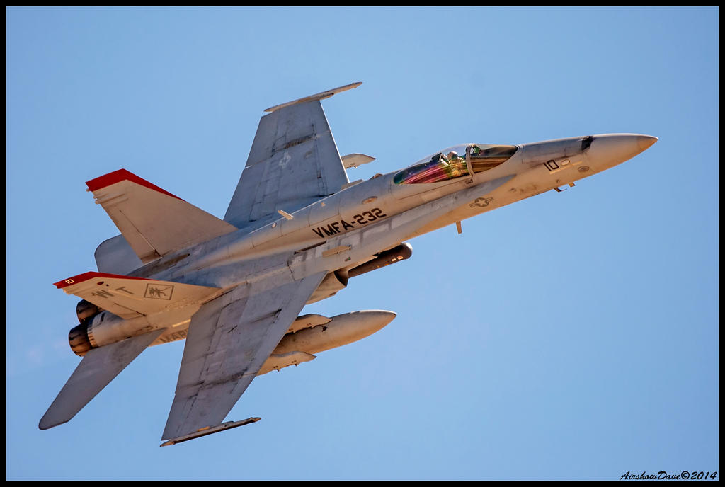 MAGTF F-18 Hornet by AirshowDave