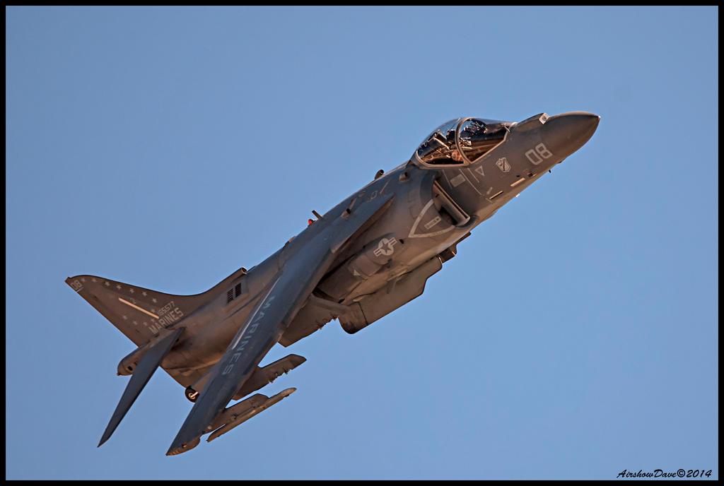 AV-8B Harrier by AirshowDave