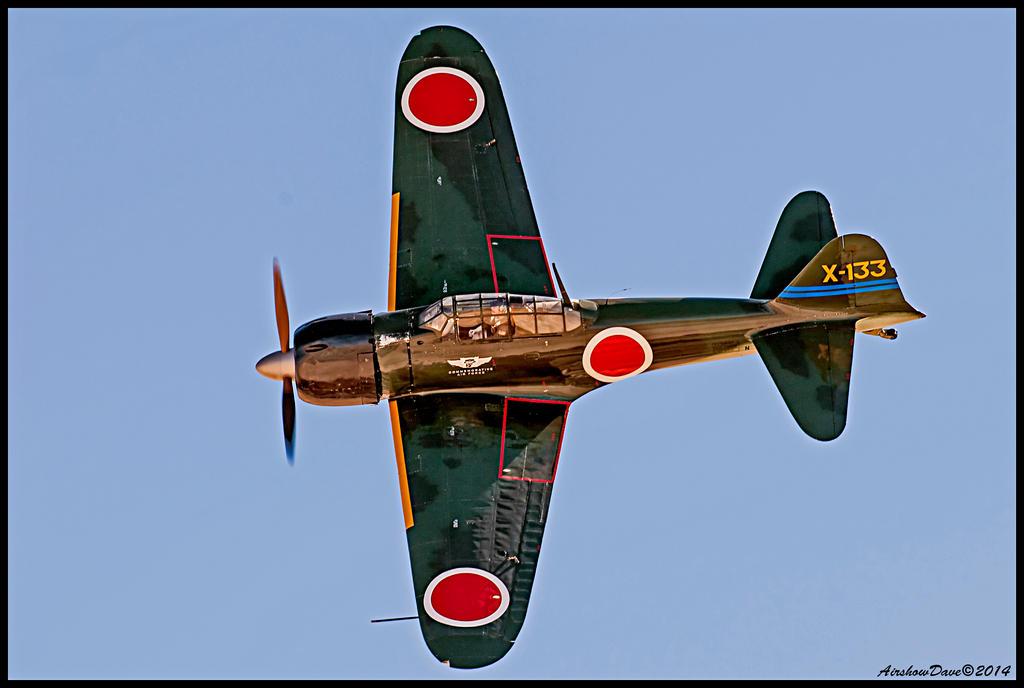 Mitsubishi A6M3 Zero by AirshowDave