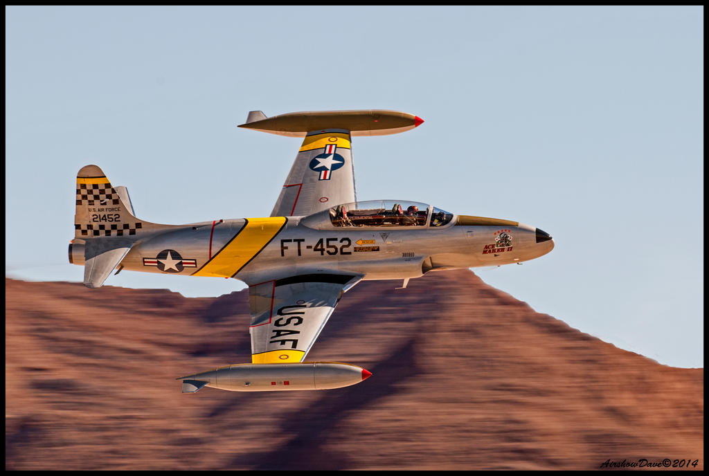 Lockheed T-33 Ace Maker II by AirshowDave