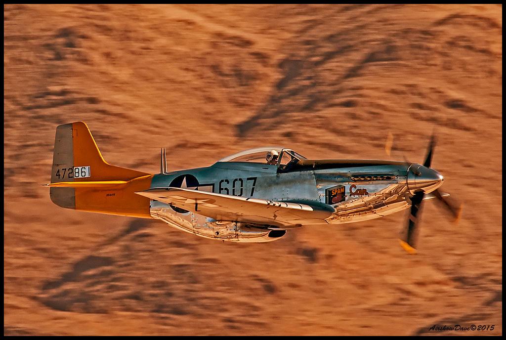 P 51 Mustang Art P-51 Mustang Spam Can ...