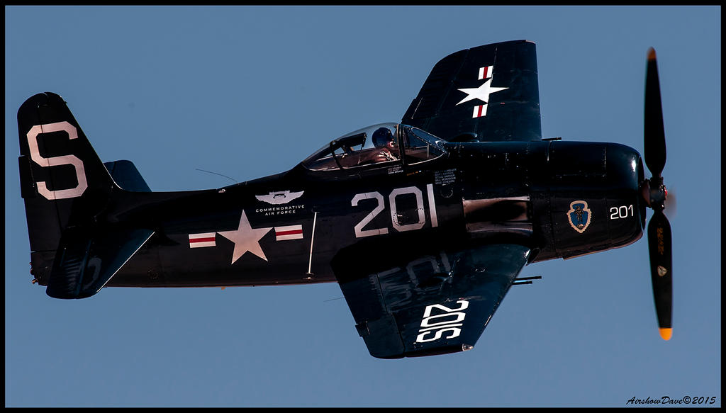 F8F Bearcat by AirshowDave