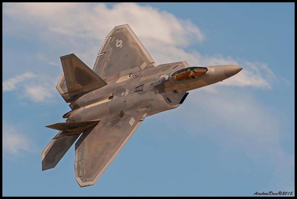 F-22 Raptor by AirshowDave