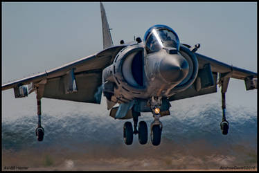 AV-8B Harrier MCAS  Miramar 2016 by AirshowDave
