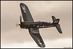 Chance Vought F4U Corsair by AirshowDave