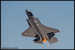 F-35A Nellis 2017 by AirshowDave