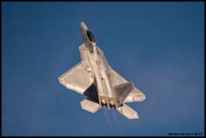 F-22 Raptor Nellis 2017 by AirshowDave