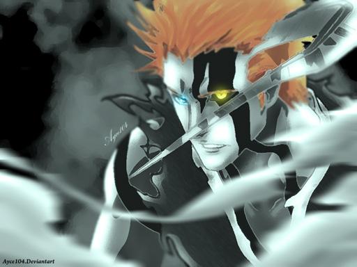 Ichigo attacks ywhach bleach 673 father by Ayce104 on DeviantArt