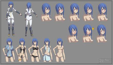 Ferrah Character sheet by Indy-K