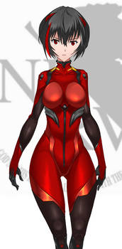Blood-Red Ayanami