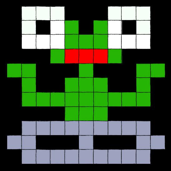 Dj Robot Alien by KermitLGonzalez