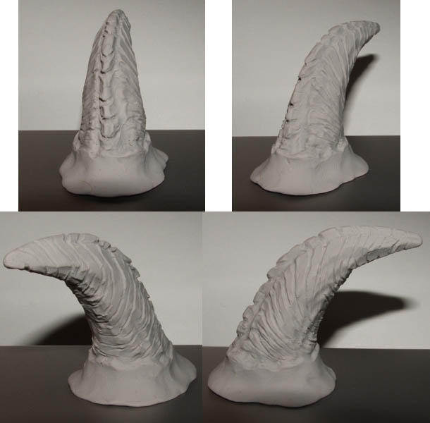 Faun Costume - Horn Sculpt by lauraneko