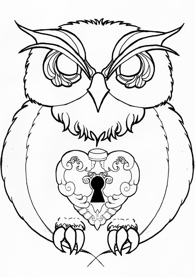 Displaying 16gt Images For Tribal Owl Drawings