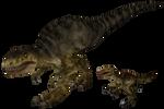 Carnivores2:allosaurue (ceratosaurus)