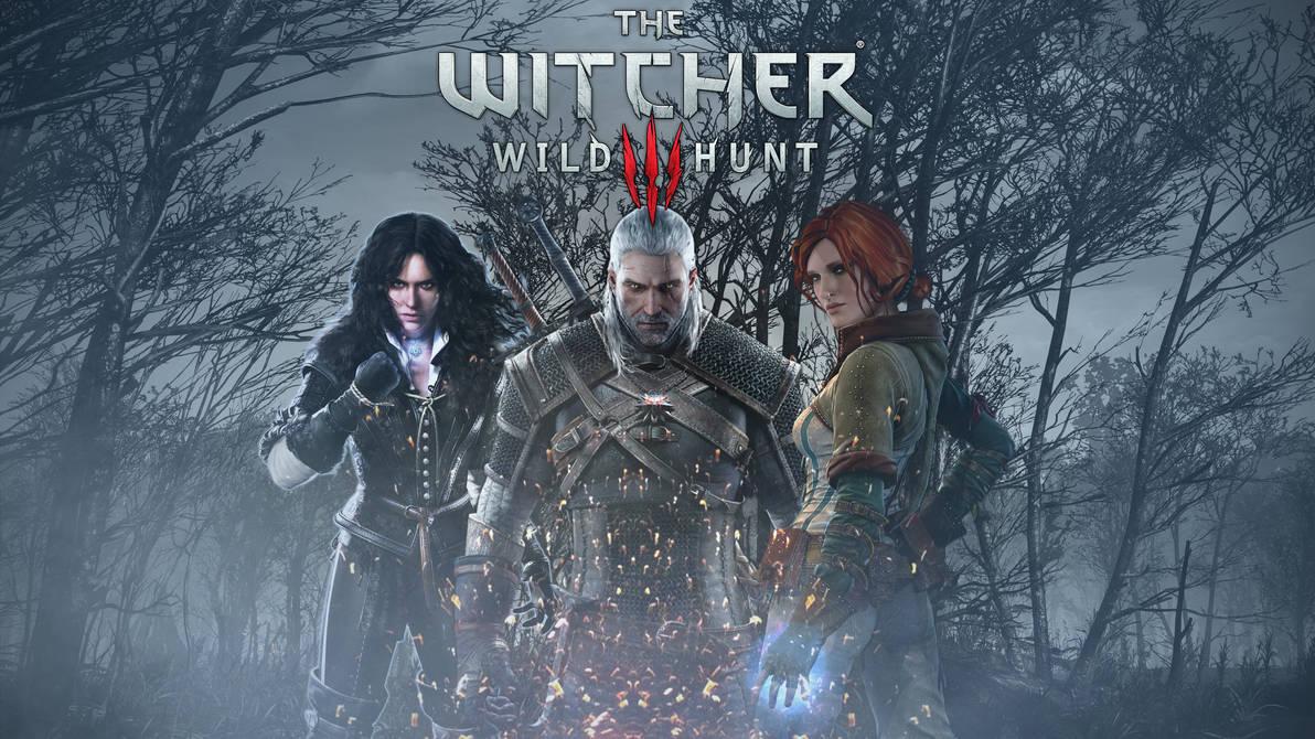 The witcher 3 desktop background 4k by designedbyacidz - The witcher wallpaper 4k ...