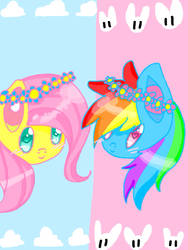 flutters and dashie by Katdakat