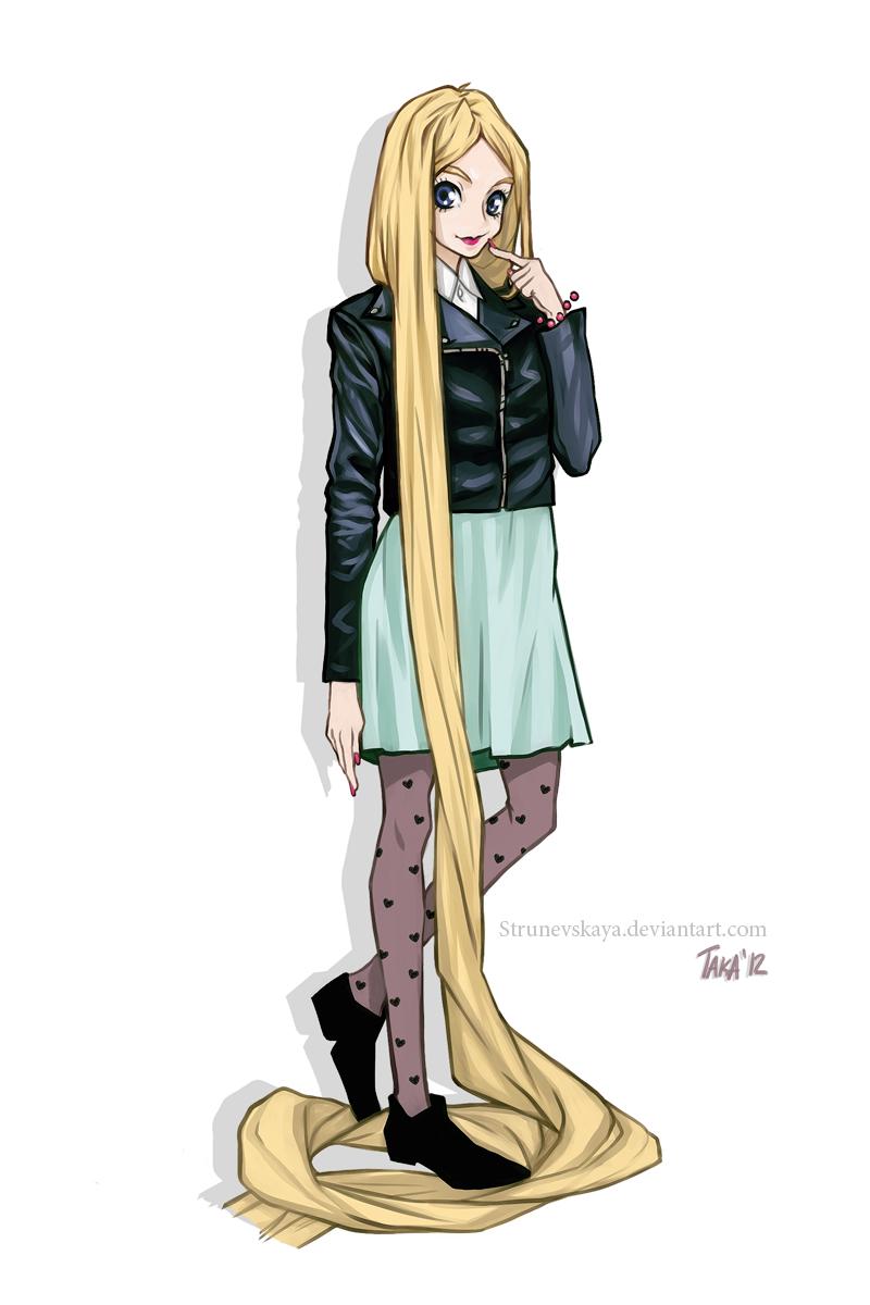 Rapunzel by StruNevskaya
