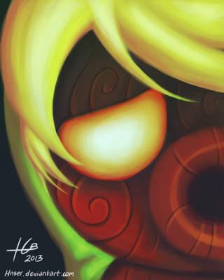 Majora's Mask: Deku Link by Hnser