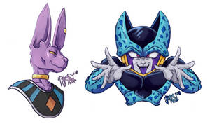 Beerus + Cell Jr