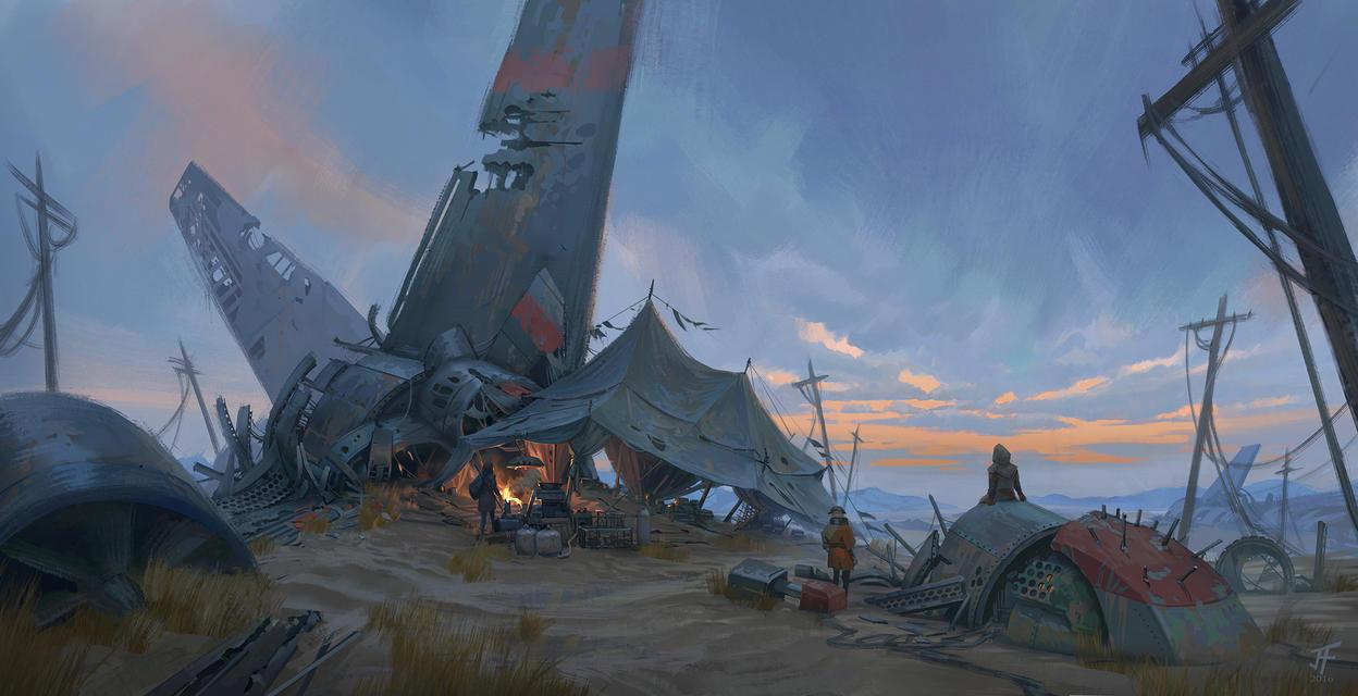 Junk Tent by JeremyFenske