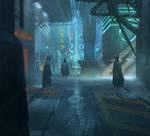 Back alley detail