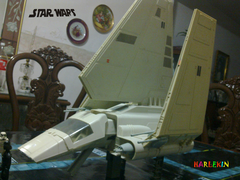 Star Wars Toy Ships : The imperial shuttle star wars toy ship by harlekin