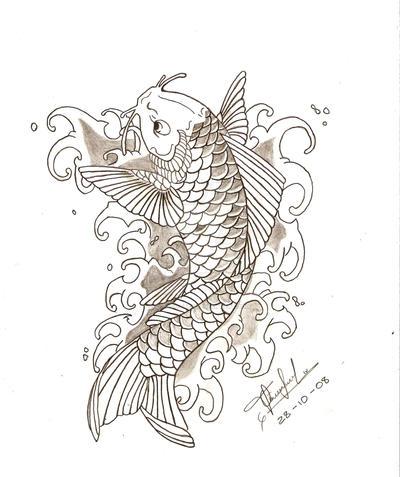 Koi Fish - Pez Koi by Pl2ooo--tcs on DeviantArt