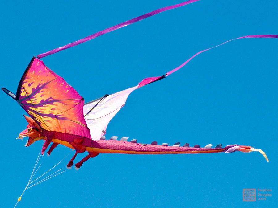 Воздушный змей дракон как сделать