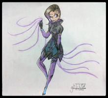 {OVERWATCH} The New Bae of Overwatch by gliitchx