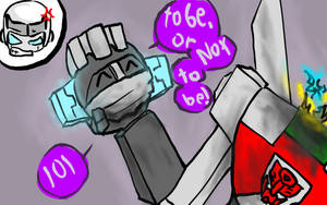Wheeljack is Shakespeare by coldex