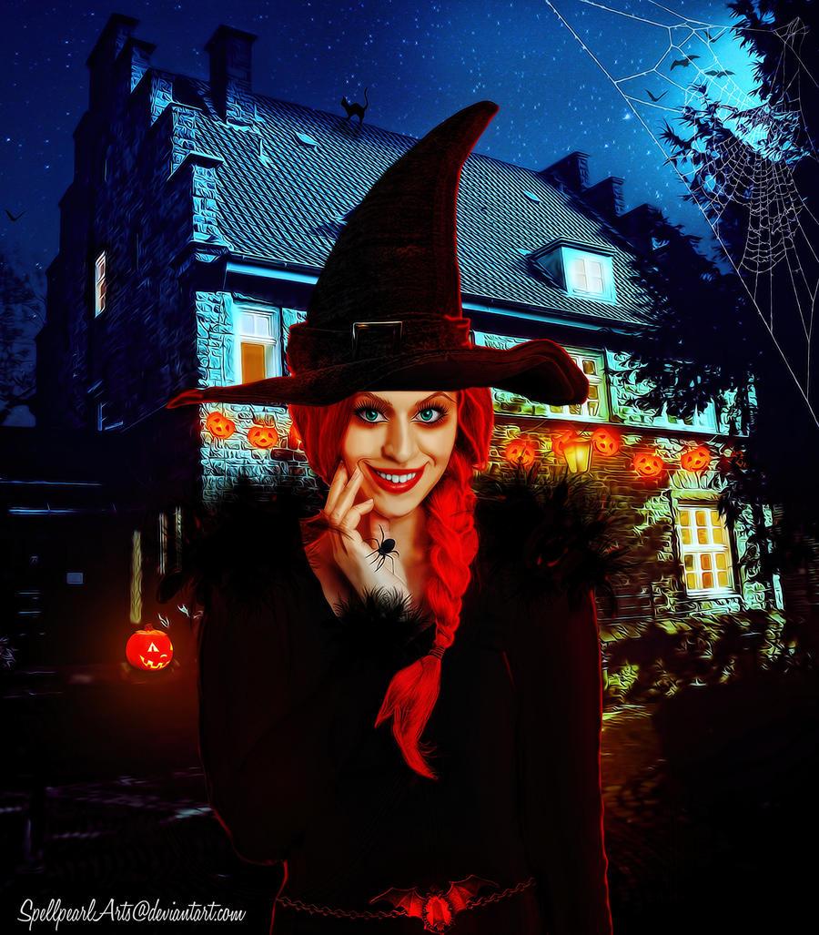Happy Halloween 2 by SpellpearlArts