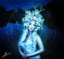 Luna by SpellpearlArts