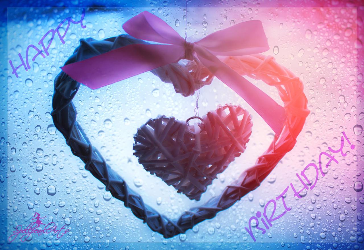 A heartly February Happy Birthday! by SpellpearlArts