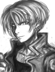 Sketch of Trunks from Dragon Ball Z