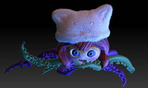 Cute And Creepy Little Monster