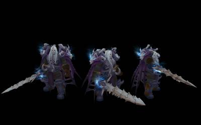 Arthas Dragonbone by benreally