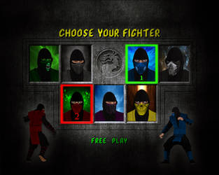 MK Ninjas Costumes Pack - The Movies Game MOD by benreally