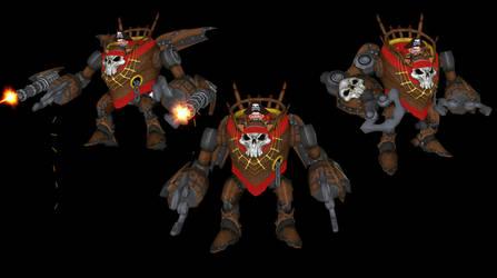 Pirates Skullspike Gnome Mech Bot by benreally