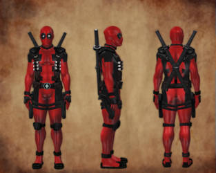 Deadpool Costume by benreally