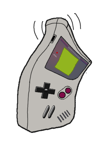 Gameboy Waving by JimmyPiranha
