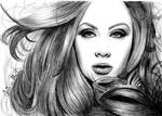 Adele better Quality Drawing