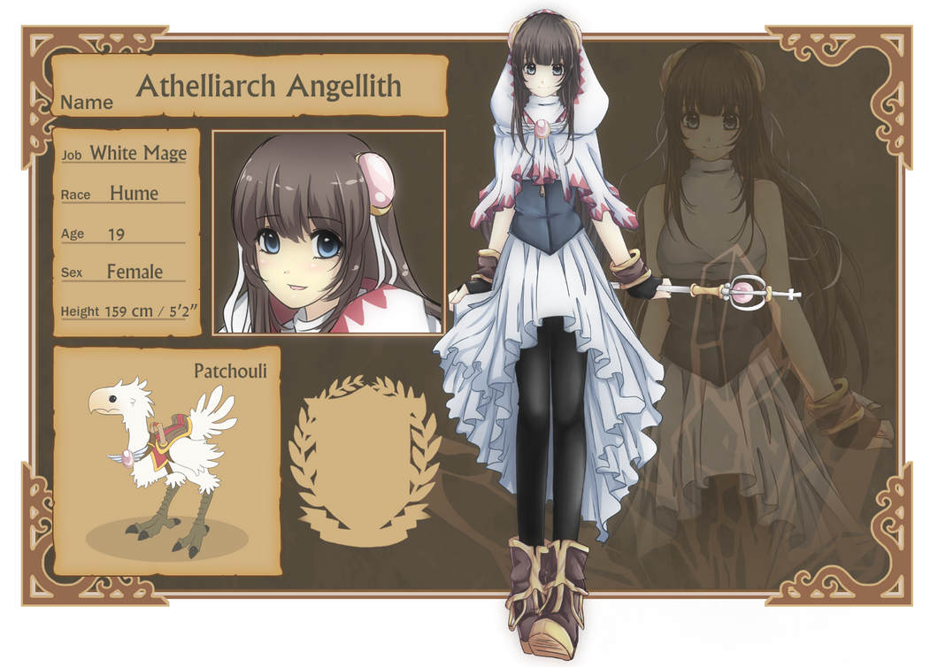CT : Athelliarch Angellith by ChiChiCuit